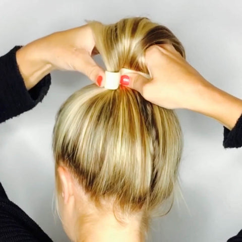 how to make a ponytail not sag