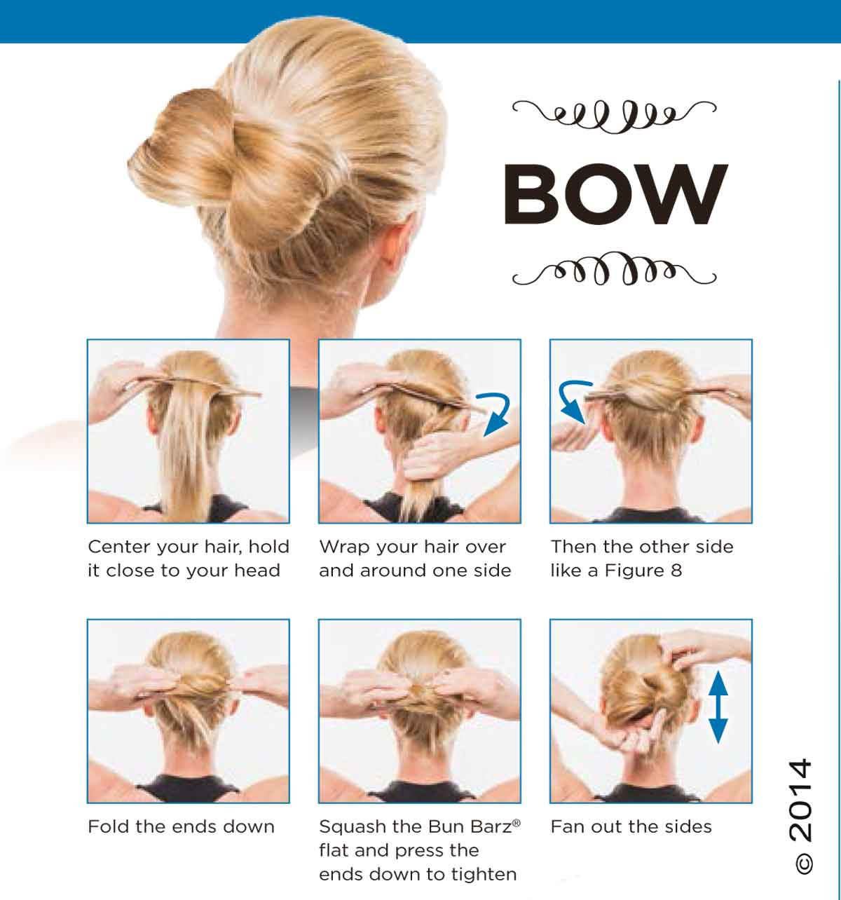 Bun Barz Instructions Pony O Hair Accessories