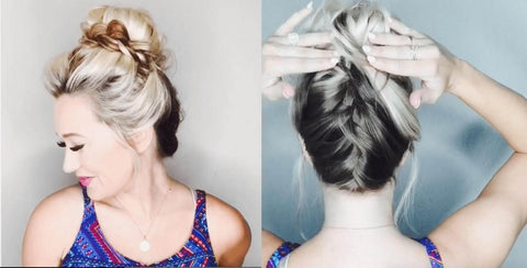 cute hairstyles that dont damage hair
