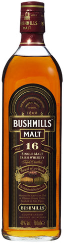 Bushmills 16 Years Single Malt Irish Whiskey