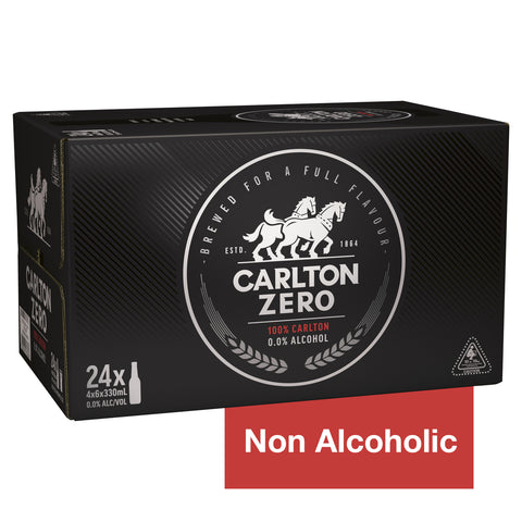 Carlton Zero Non Alcoholic Beer 330ml