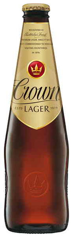 Crown Lager Stubbies