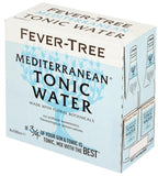 Fever-Tree Premium Mediterranean Tonic Water Bottles 500mL - Case of 8