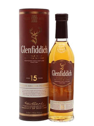 "Glenfiddich 15 Year Old Scotch Whisky "" SOLERA RESERVE"""