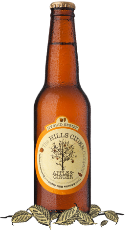 The Hills Cider Company Apple & Ginger Hybrid Series