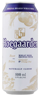 Hoegaarden White Beer 500ml Cans - Case of 24