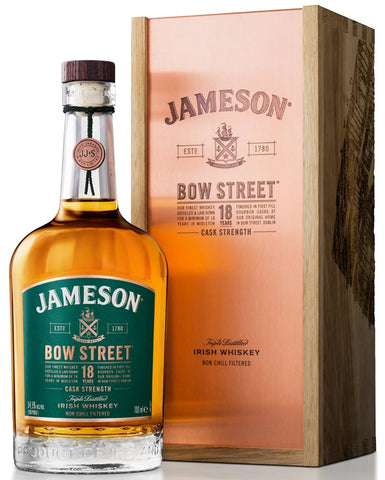 Jameson Bow Street 18 Year Old Cask Strength