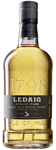 Ledaig 10 Years Single Malt Scotch Whiskey