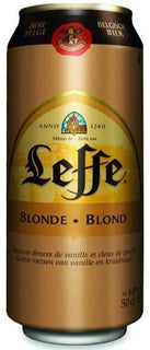 Leffe Blonde Cans 500ml - Case of 24
