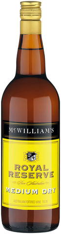 McWilliams Royal Reserve Medium Dry Sherry