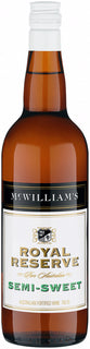 McWilliams Royal Reserve Semi-Sweet Sherry