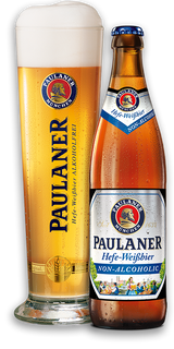 Paulaner Hefe-Weissbier Non Alcoholic - Case of 20
