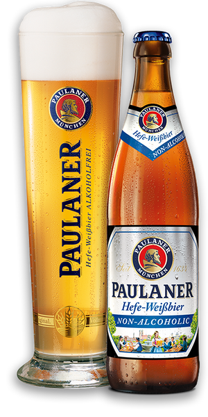 Image result for alcohol free paulaner