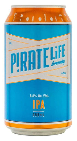 Pirate Life Brew IPA 355ml Can