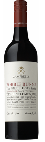Campbells Bobbie Burns Shiraz