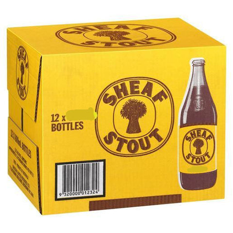 Sheaf Stout 750ml Long Necks - Case of 12