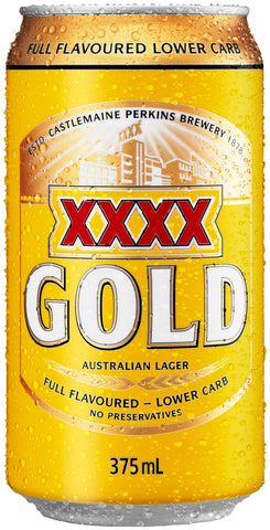 XXXX Gold Cans 30 Block