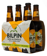 Bilpin Apple & Ginger Non Alcoholic Cider 330ml - Case of 24