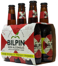 Bilpin Apple & Raspberry Non Alcoholic Cider 330ml - Case of 24