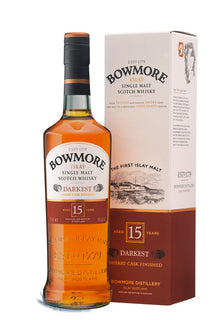 Bowmore 15YO Islay Malt Whisky Darkest