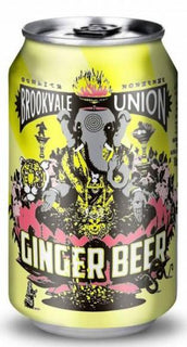 Brookvale Union Ginger Beer Cans