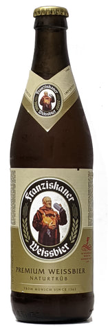 Franziskaner Hefe-Weissbier 500ml - Case of 20
