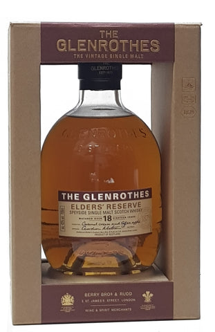 Glenrothes Elder's Reserve 18 YO Single Malt Scotch Whisky