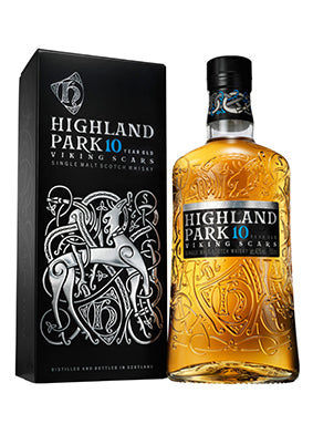 Highland Park 10 YO Viking Scars Whisky