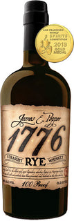 James E Pepper 1776 Straight Rye Whiskey 100 Proof