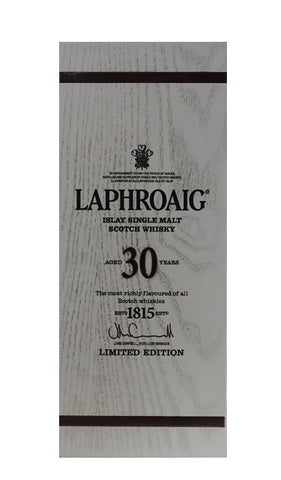 Laphroaig 30YO Islay Single Malt Whisky