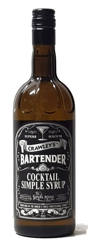 Crawley's Bartender Simple Syrup