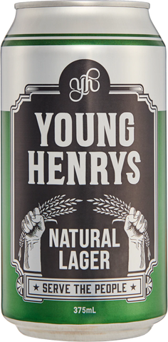 Young Henry's Natural Lager - Case of 24