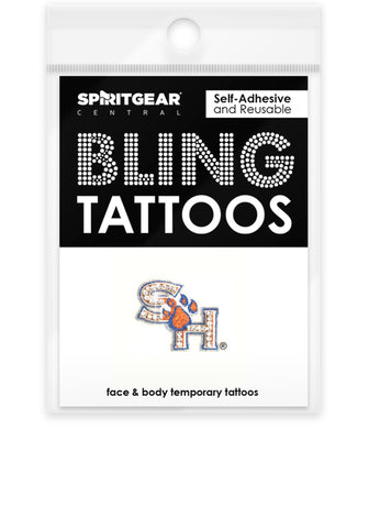 Sam Houston State Bearkats Bling Tattoo