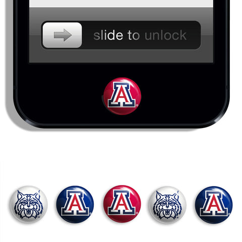 Arizona Wildcats Udots iPhone iPad Buttons - Spirit Gear Central