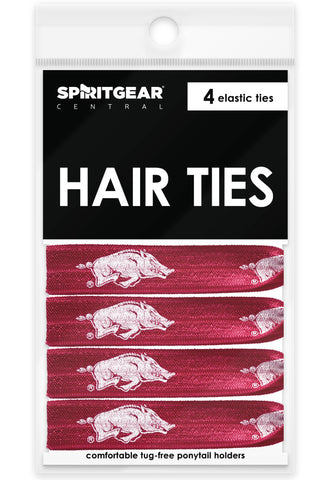 Arkansas Razorbacks Hair Ties - Spirit Gear Central