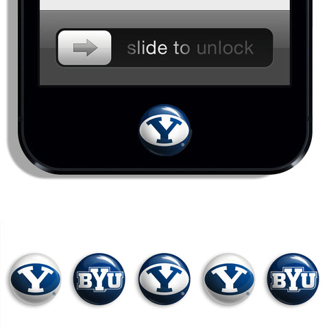 BYU Cougars Udots iPhone iPad Buttons - Spirit Gear Central