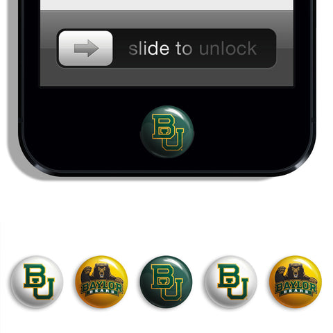 Baylor Bears Udots iPhone iPad Buttons - Spirit Gear Central