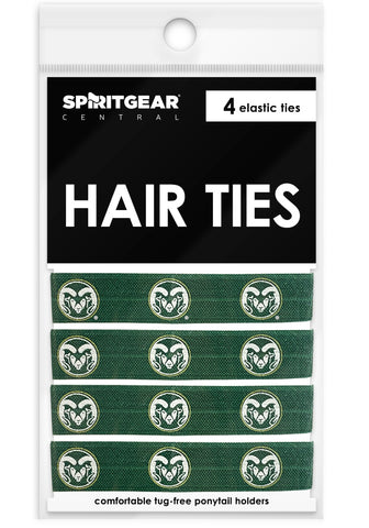 Colorado State Rams Hair Ties