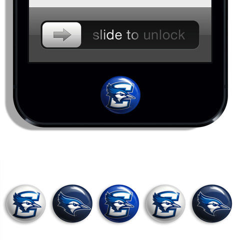 Creighton Bluejays Udots iPhone iPad Buttons - Spirit Gear Central