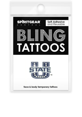 Utah State Aggies Bling Tattoos