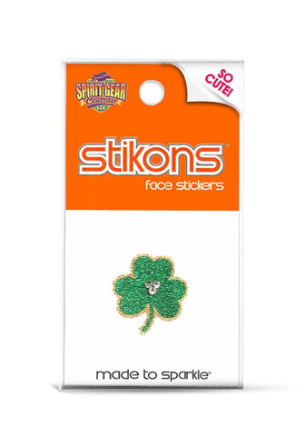 St. Patrick's Day Bling Tattoos Shamrock