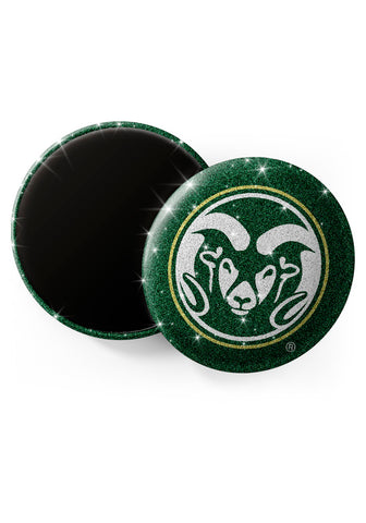 Colorado State Rams Glitter Magnets