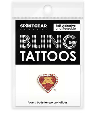 Minnesota Golden Gophers Bling Tattoos