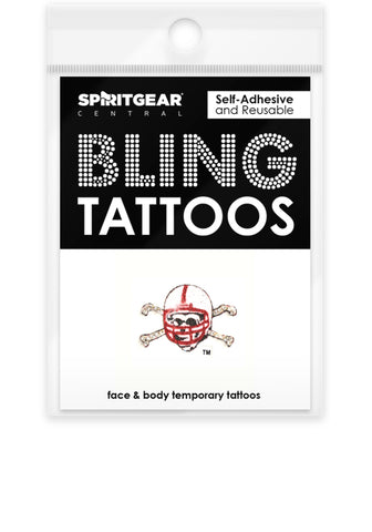 Nebraska Cornhuskers Bling Tattoos