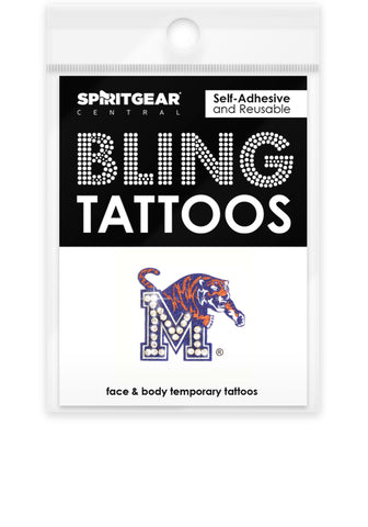 Memphis Tigers Bling Tattoos