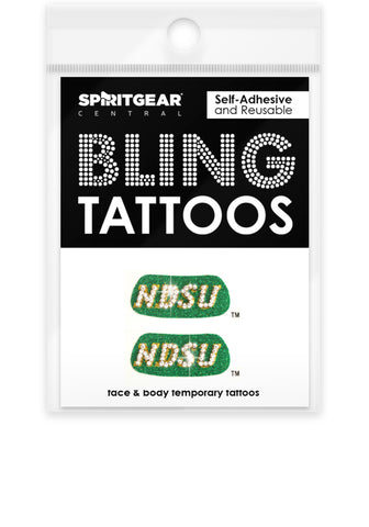 NDSU Bison Bling Eye Blacks