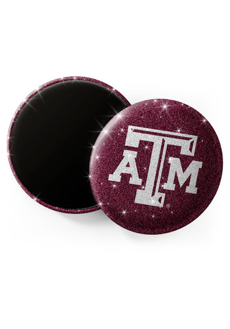 Texas A&M Aggies Glitter Magnets