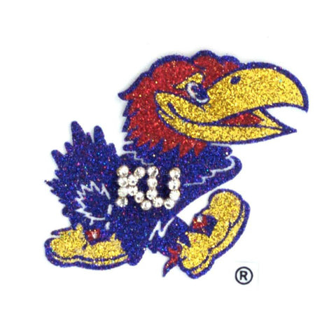 Kansas Jayhawks Bling Tattoos - Spirit Gear Central