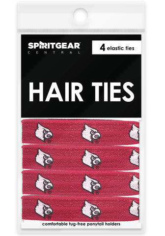 Louisville Cardinals Hair Ties - Spirit Gear Central