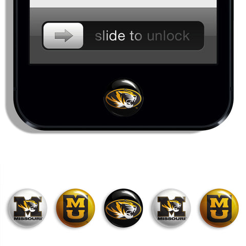 Missouri Tigers Udots iPhone iPad Buttons - Spirit Gear Central